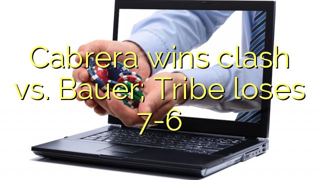 Cabrera jirbaħ kunflitt vs Bauer; Tribù jitlef 7-6