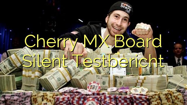Cherry MX odbor Silent Testbericht