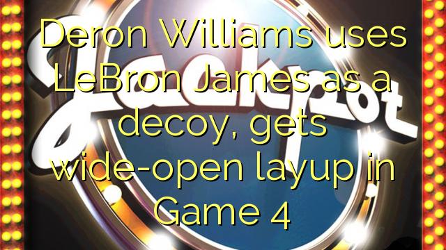 Deron Williams utiliza LeBron James como un señuelo, obtiene bandeja completamente abierto en el Juego 4