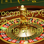 Eurocom Sky X9E3 stretches the meaning of 'laptop'