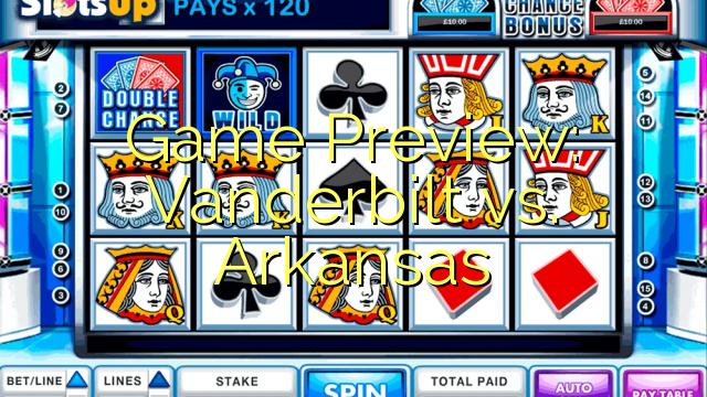 Spiel Vorschau: Vanderbilt vs. Arkansas