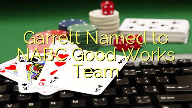 Garrett Nimega NABC Hea tööd Team