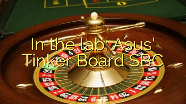 Í rannsóknarstofunni: Asus 'Tinker Board SBC