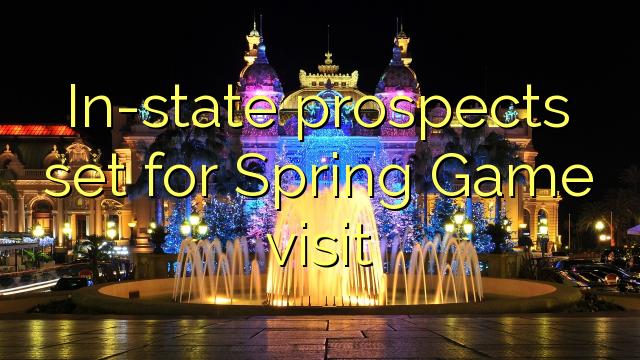 In-riik väljavaated seatud Spring Game külastus