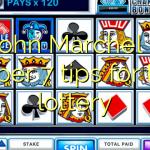 John  Marchel – Super 7 tips for the lottery