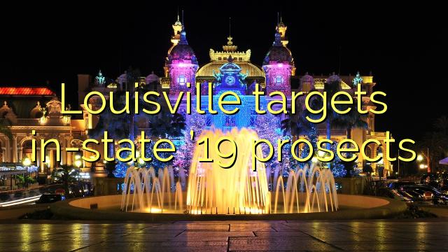 Louisville menargetkan keputusan 19 dalam negara