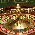 MSI Leopard Pro laptops sprint for the kill