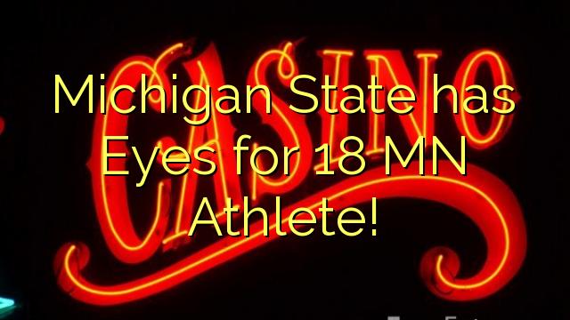 Michigan State on silmad 18 MN sportlane!