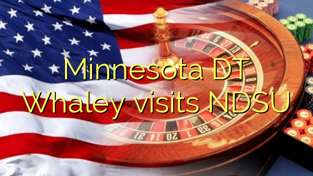Minnesota DT Whaley melawat NDSU