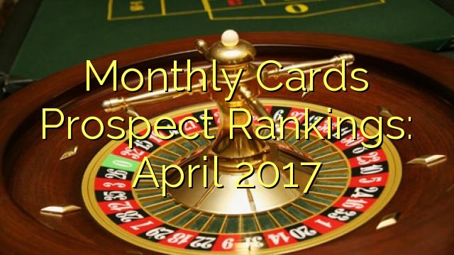 Monatskarten Prospect Rankings: April 2017
