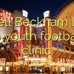 Odell Beckham late to youth football clinic