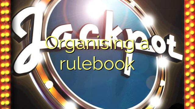 Organizování soubor pravidel