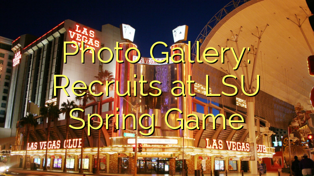 Galeri Foto: Rekrut di LSU Spring Permainan