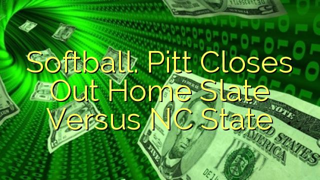 Mjuk boll. Pitt stänger hemskiffer mot NC-staten