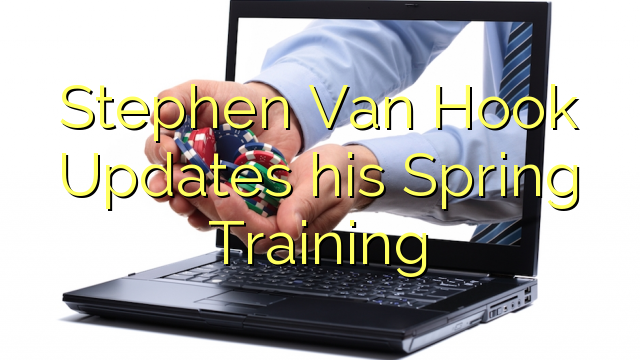 Disciplina illius Spring Stephen Van Hook Updates
