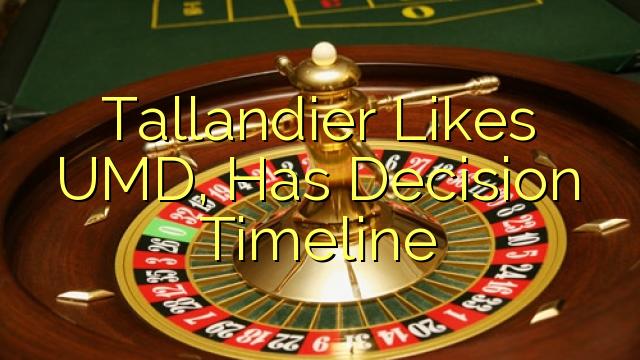 Tallandier Likes UMD, Has Decision Timeline