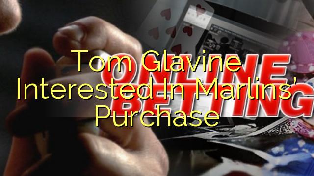 マーリンズ購入に興味があるトム・グラビン