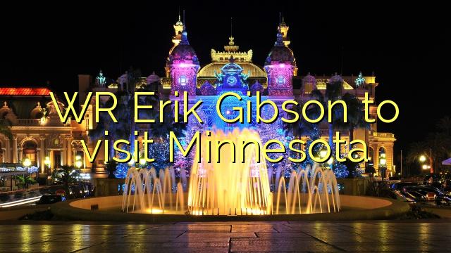 WR Ерик Гибсон ќе ја посети Минесота