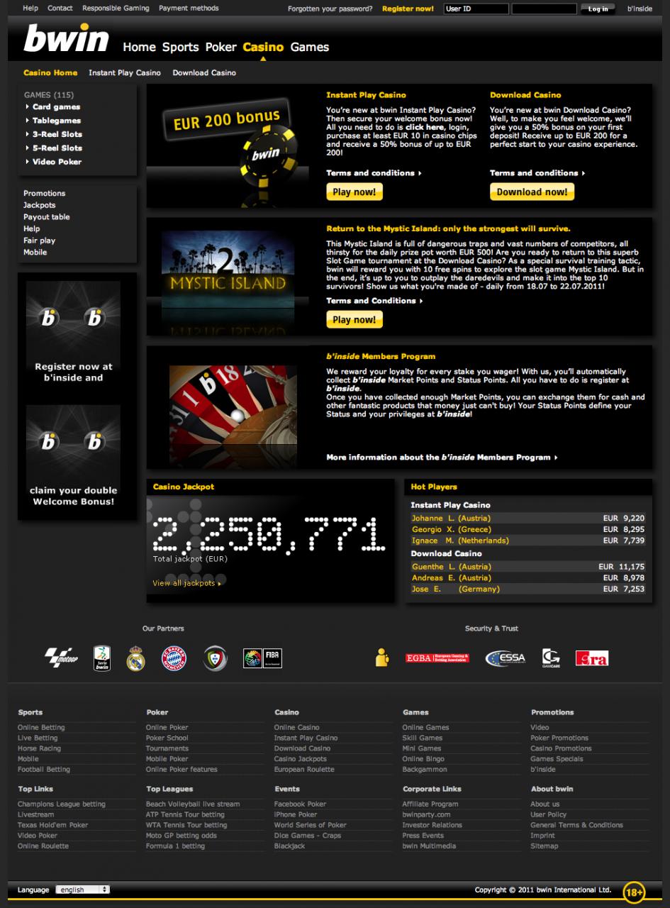 bwin online casino onlinecasino.de