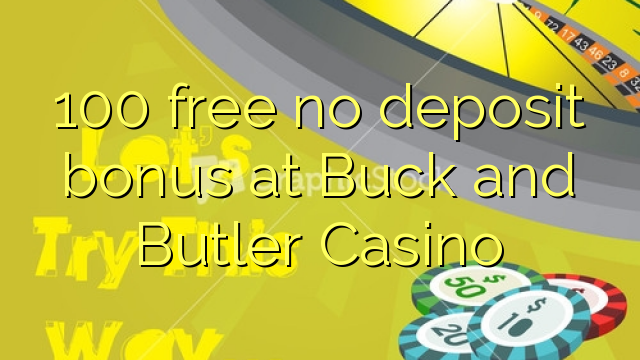 free online casino no deposit buck of ra