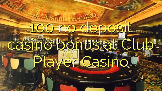 Casino club player