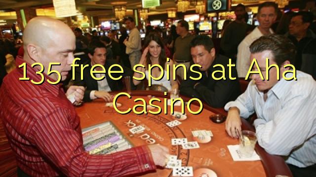 AHA Casino'da 135 pulsuz spins
