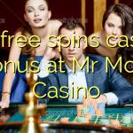 135 free spins casino bonus at Mr Mobi Casino
