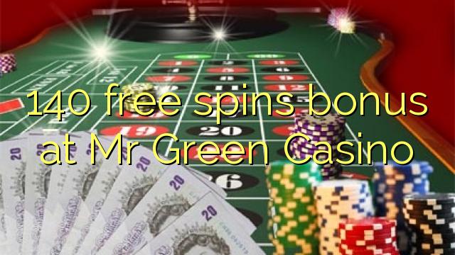 mr green casino free bonus code