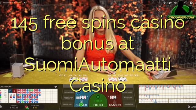 145 gratis spins casino bonus på SuomiAutomaatti Casino