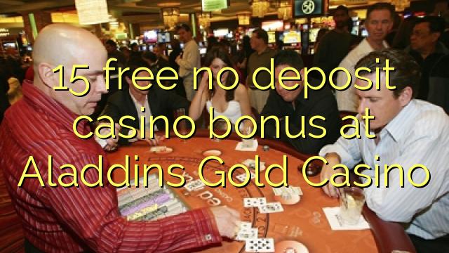Aladdins casino no deposit codes