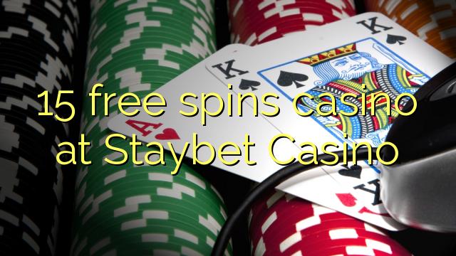 15 озод spins казино дар Staybet Казино