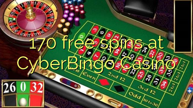 170 gratis spinn på CyberBingo Casino