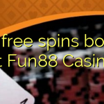170 free spins bonus at Fun88 Casino