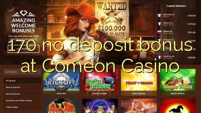 comeon casino no deposit bonus codes