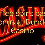 175 free spins casino bonus at Dunder Casino