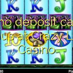 175 no deposit casino bonus at Crazy Luck Casino