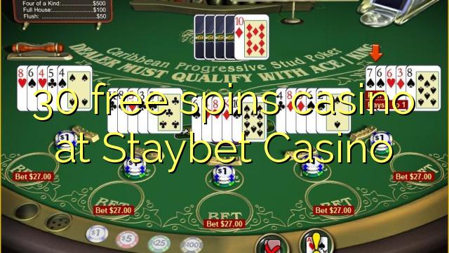 30 озод spins казино дар Staybet Казино
