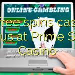35 free spins casino bonus at Prime Slots Casino