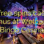 45 free spins casino bonus at Welcome Bingo Casino