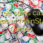 55 free spins casino bonus at MainStage Casino