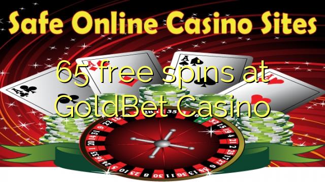GoldBet Casino-da 65 pulsuz spins