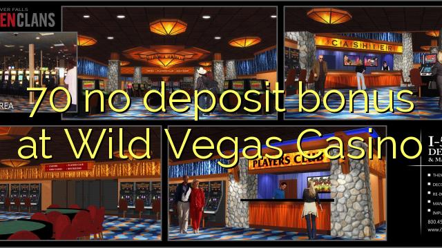 Wild Vegas Casino No Deposit Bonus