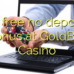75 free no deposit bonus at GoldBet Casino