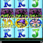 80 free spins at Istanbul Casino