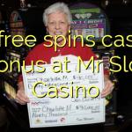 90 free spins casino bonus at Mr Slot Casino