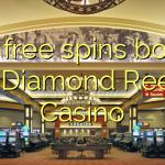 100 free spins bonus at Diamond Reels Casino
