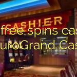 105 free spins casino at EuroGrand Casino