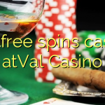 105 free spins casino atVal Casino