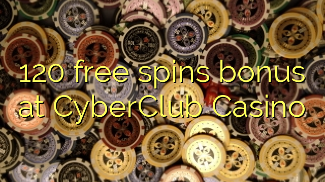 120 free spins online casino promotion
