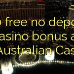 130 free no deposit casino bonus at AllAustralian Casino